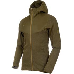 Mammut Alvra ML Hooded Jacket Men olive melange-olive